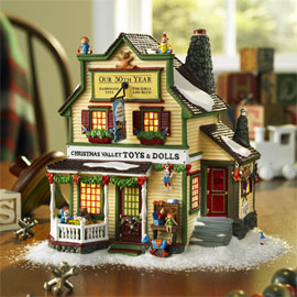 Christmas Houses Village.The Christmas House Department 56